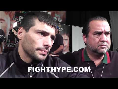 LUCAS MATTHYSSE LAUGHS AT ANTICS OF ANGEL GARCIA I DIDNT UNDERSTAND A WORD HE WAS SAYING