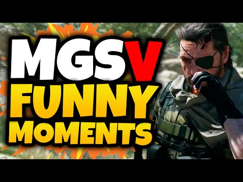 Metal Gear Solid 5: Funtage! - (MGS V: The Phantom Pain Funny Moments)