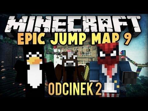 Minecraft Epic Jump Map 9: Pingwin dostaje wścieklizny D: - odc. 2