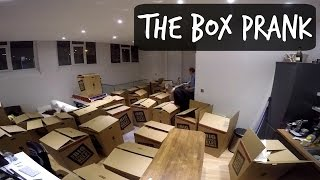 BOX PRANK ON ROOMMATE