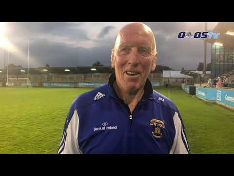 St Vincents manager Brian Mullins speaks to Dubs TV