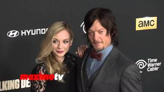 """The Walking Dead"" CAST 4th Season Premiere Red Carpet Arrivals"
