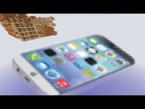 Apple iPhone in Minecraft