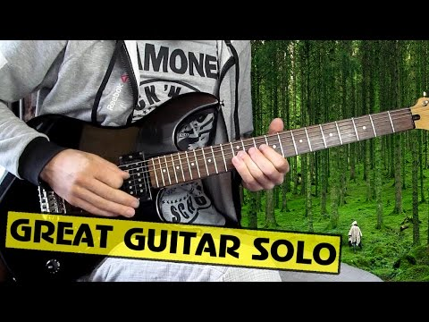 Saturnus - Forest Of Insomnia guitar cover, tabs. Great Guitar Solo.
