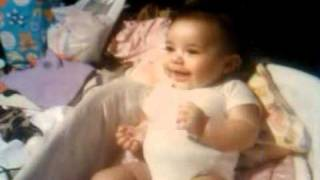 Baby laughing hystericaly ! !