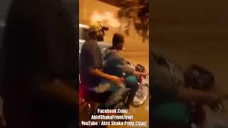 Abid Shaka Ride the bike Fun with Abba Log