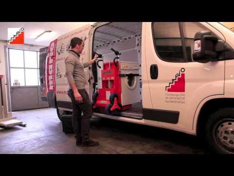 Nuovo Carrello Saliscale per trasporto elettrodomestici, mobili e bombole