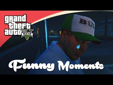 GTA V Funny Moments - De Lucky Jet Piloot & De Dikke Man! (Nederlands)