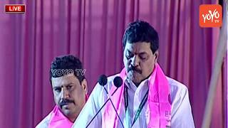 Basavaraju Sariah Speech at TRS Plenary 2018 Meeting At Kompally | KCR, KTR