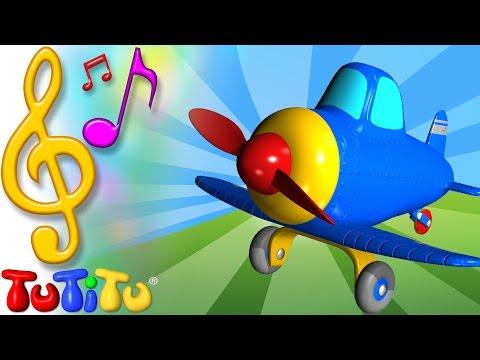 Piosenki Po Angielsku Dla Dzieci | Samolot  | Nauka Angielskiego Dla Dzieci