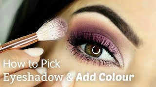 Beginners Eye Makeup Tutorial | Adding Colour | How To Apply Eyeshadow