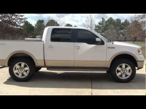 Ford F150 King Ranch Lifted For Sale 2007 Ford F150 King Ranch