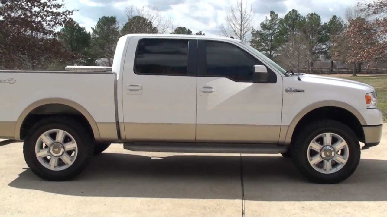 hd video 2007 ford f150 king ranch 4x4 supercrew used for. Black Bedroom Furniture Sets. Home Design Ideas