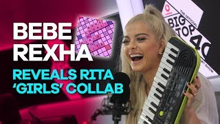 Download Lagu Bebe Rexha reveals Rita Ora's Girls collab with Charli XCX & Cardi B and music video Gratis STAFABAND