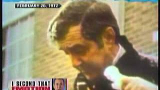 Ed Muskie cries before New Hampshire primary in 1972 (or did he?)