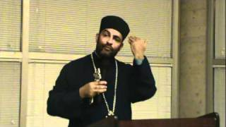 Ethiopian Orthodox Church preaching by Kesis Dejene Shiferaw.