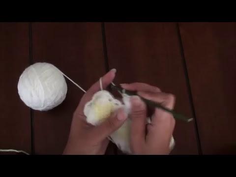 Mantita de Bebé en Punto Tunecino y Crochet (Parte 4)