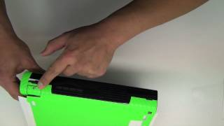 Nintendo Wii U Lime Green Carbon Fiber Install by Stickerboy