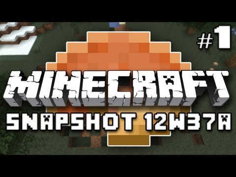 Minecraft: Speedy Pigs, Pumpkin Pie, and Wither Explosions (Snapshot 12w37a Part 1)