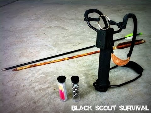 Black Scout Reviews - Survival Slingshot
