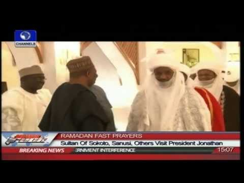 Sultan Of Sokoto, Sanusi,Others Visit President Jonathan