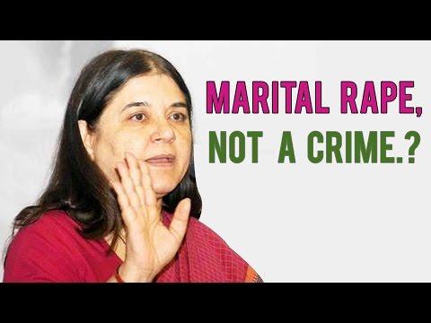 Maneka Gandhi: Marital Rape Law Can't Be Applied In India