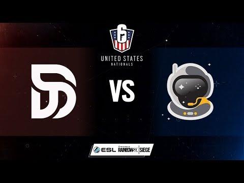 Rainbow Six US Nationals - DisruptGG vs. Spacestation Gaming - Week 3