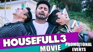 Housefull 3 Movie Promotional Events | Akshay Kumar, Riteish Deshmukh, Abhishek Bachchan