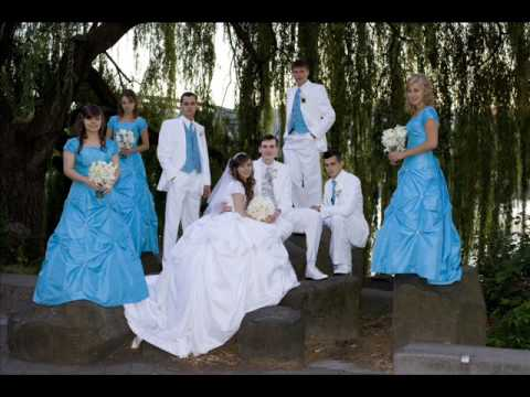Artem and Masha Turquoise Wedding August 15 2009