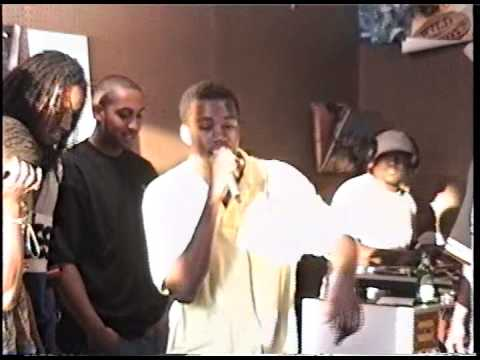 Vintage Video: Kanye West Freestyles at Fat Beats Opening (Extended)