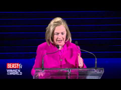 Hillary: 'Let's Keep Fighting' For Women
