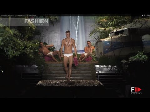 "Fashion Show ""DSQUARED2"" Spring Summer 2014 Menswear Milan HD by Fashion Channel"