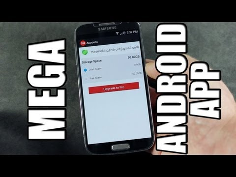 Official MEGA Cloud Storage App for Android