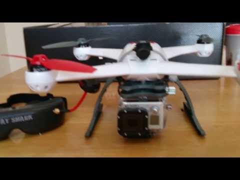 Blade 350 QX FPV set up with Fatshark Predator v2