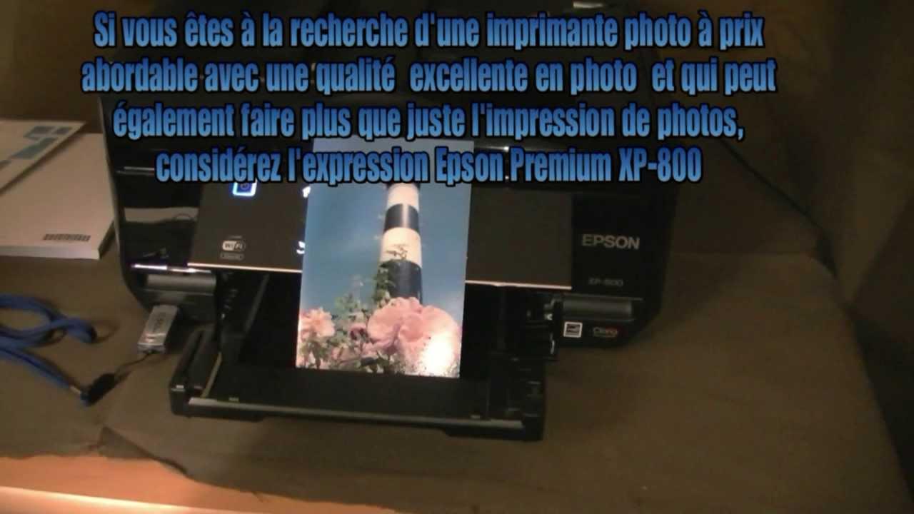 test imprimante epson expression prime xp 800 cartouches. Black Bedroom Furniture Sets. Home Design Ideas