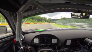 Mercedes-AMG GT3 Helmetcam onboard at Spa Francorchamps