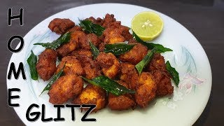 Tasty and spicy Chicken 65 in english