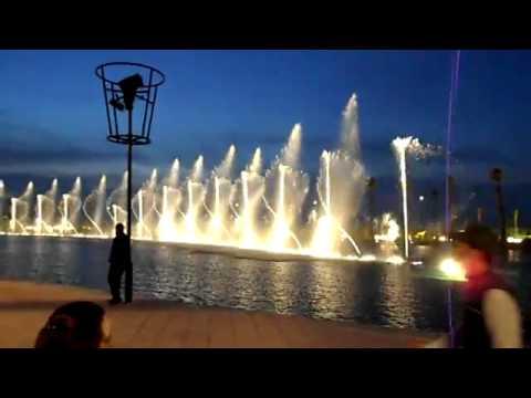 Fontaine Morocco Mall Au Rythme Du Chaabi [ By Kamalito ZEMMAMA ]