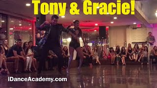 Tony Gracie Bachata dance for a cause Stevens steakhouse