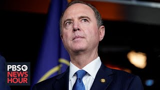 WATCH: House Intel chair Schiff speaks after release of impeachment inquiry testimony
