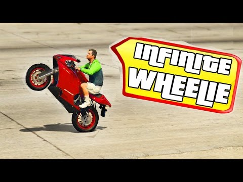 GTA 5 - How To Do The Infinite Wheelie?