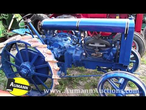 Rumely DoAll Tractor - Aumann Auctions - Online Only Antique Tractor Auction