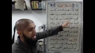 Nuraniyah - Exercises on Shaddah & Ghunnah - Part 1 - Imam Raza