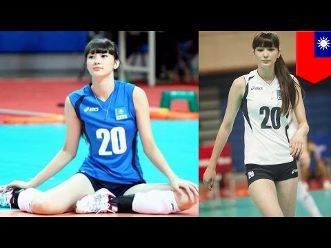 Sabina Altynbekova: Taiwan's Media Agrees - Kazakhstan Female Volleyball Player Is Hot! video