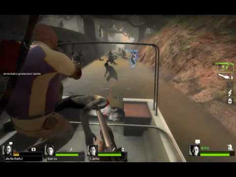 Left 4 Dead 2 Custom Map Review - 2 Evil Eyes 2 of 4 - Kilplix N Friends
