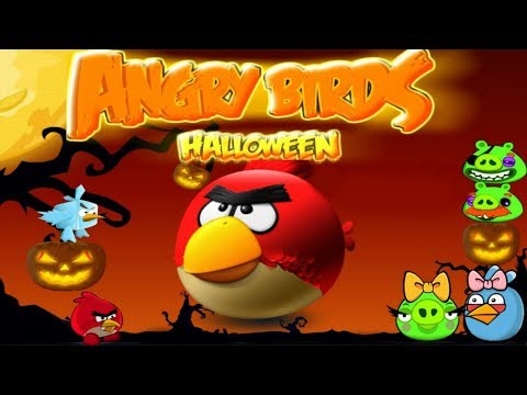 Angry Birds Halloween Adventure Rovio Online Flash Game Levels 1-2