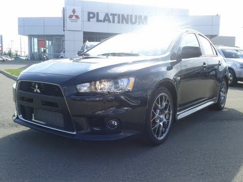 2014 Mitsubishi Lancer Evolution MR - Virtual Test Drive & Review