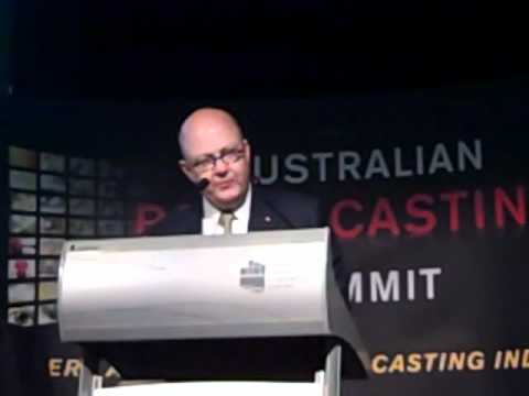 Kim Williams CEO Foxtel - Australian Broadcasting Summit