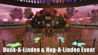 Exploring Second Life - Dunk-A-Linden & Hug-A-Linden Event - 2018