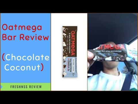 Oatmega Bar Review: Chocolate Coconut by Boundless Nutrition